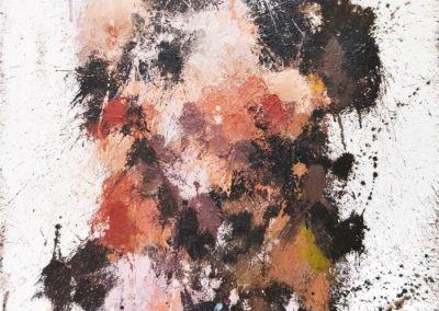 75x52 cm. Acrílico sobre lienzo.