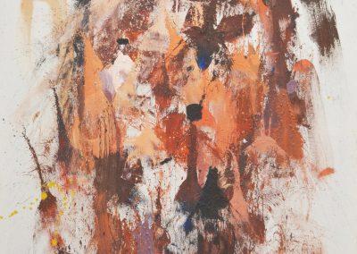 145x105 cm. Pintura plástica y Spray sobre lienzo. 2017